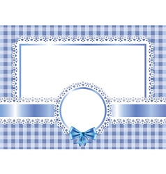 Children frame horizontal vector