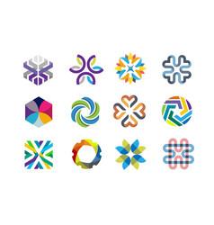 color decorative symbol vector image