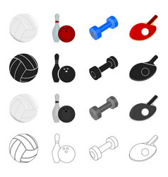 entertainment sport winning and other web icon vector image