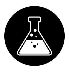 Laboratory equipment icon vector image