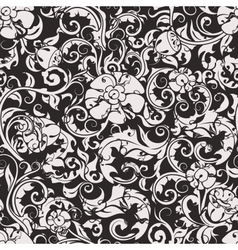Seamless Wallpaper Pattern silhouette vector