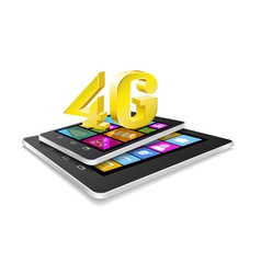 Tablet pc phone and new technology vector image