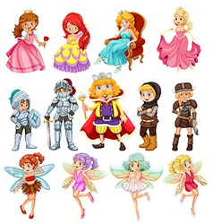 Fantasy characters vector image