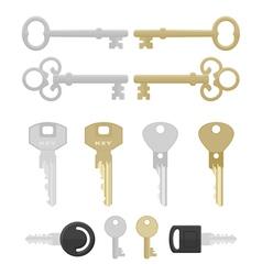 twelve keys vector image vector image