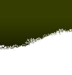 Winter Abstract Background with Snow vector image
