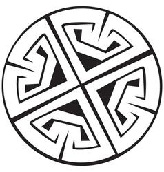 Celtic Crosses vector image