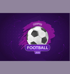 ball graphic design on a violet background vector image