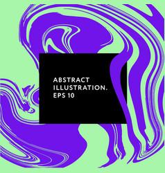 fluid art memphis hipster glitch elements graphic vector image