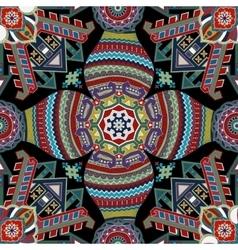 Geometrical seamless pattern Ethnic wallpaper vector image