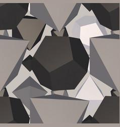 monochrome geometric backdrop vector image