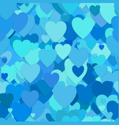 seamless random heart pattern background - design vector image