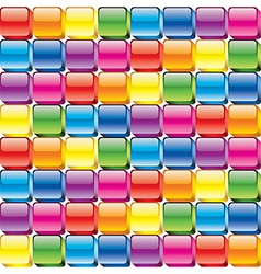 colorful buttons seamless vector image