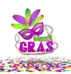 Mardi Gras or Shrove vector image