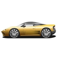 sport car vector image