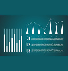 Backgroud graphic design business infographic vector