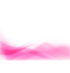 curve and blend light pink abstract background 003 vector image
