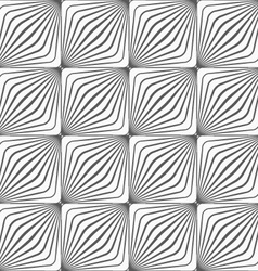 Gray diagonally striped squared forming grid vector image