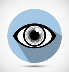Open Eye Icon vector