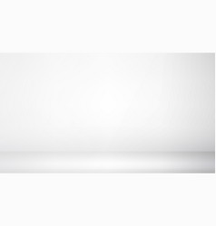Photo studio room empty white interior gallery vector