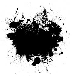 splat black copyspace vector image