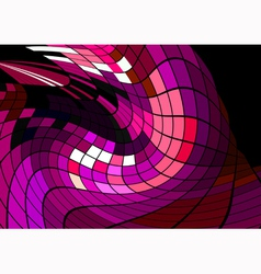 Abstract disco background vector image
