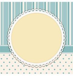 Vintage Decorative Background vector image vector image