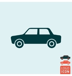 Car icon isolated vector image vector image