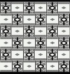 geometric african print cloth kente seamless vector image