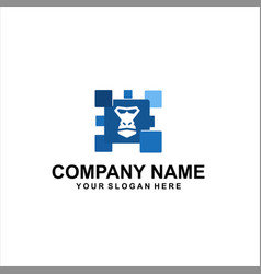 gorilla tech logo vector image