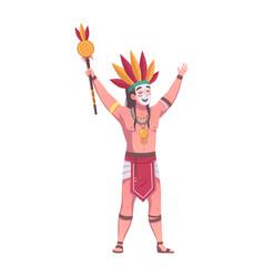 Maya man vector