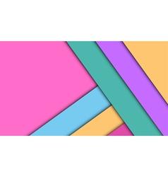 Modern material design background vector