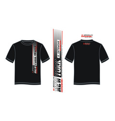 92f44cbc0 T shirt new york sportswear typography design vector ...