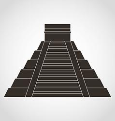 pyramid mexican vector image