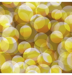 Abstract seamless yellow circle background vector image