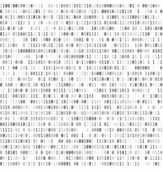 Binary computer code digital data stream abstract vector