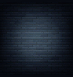 brick wall with light source background isolated vector image