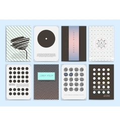 collection templates vector image