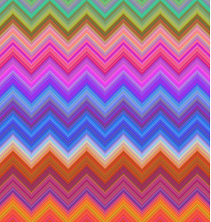 Colorful zigzag stripe pattern background design vector