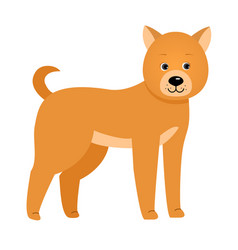 dog for children vector image