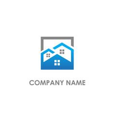 Home realty logo vector