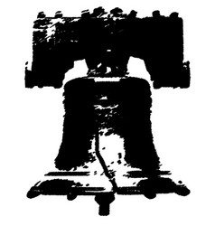 The liberty bell vector