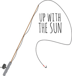 Up With Sun vector