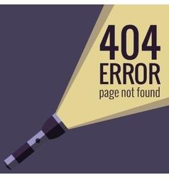 concept 404 error vector image vector image