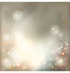 Abstract Luxury Bokeh Background vector image vector image