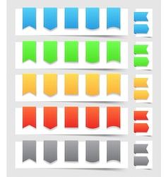 Design elements banners vector image