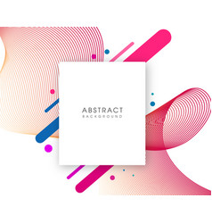 Abstract modern background with copy space vector