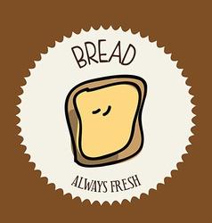 Bread design vector