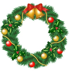 Christmas garland vector image