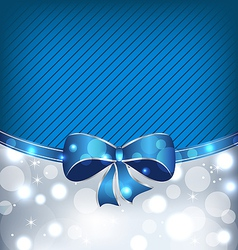 Christmas glowing background holiday design vector