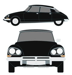 citroen ds vector image